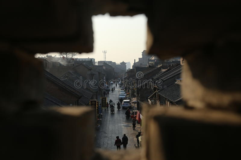 The Ancient Architectural Buildings Line of sight stock images