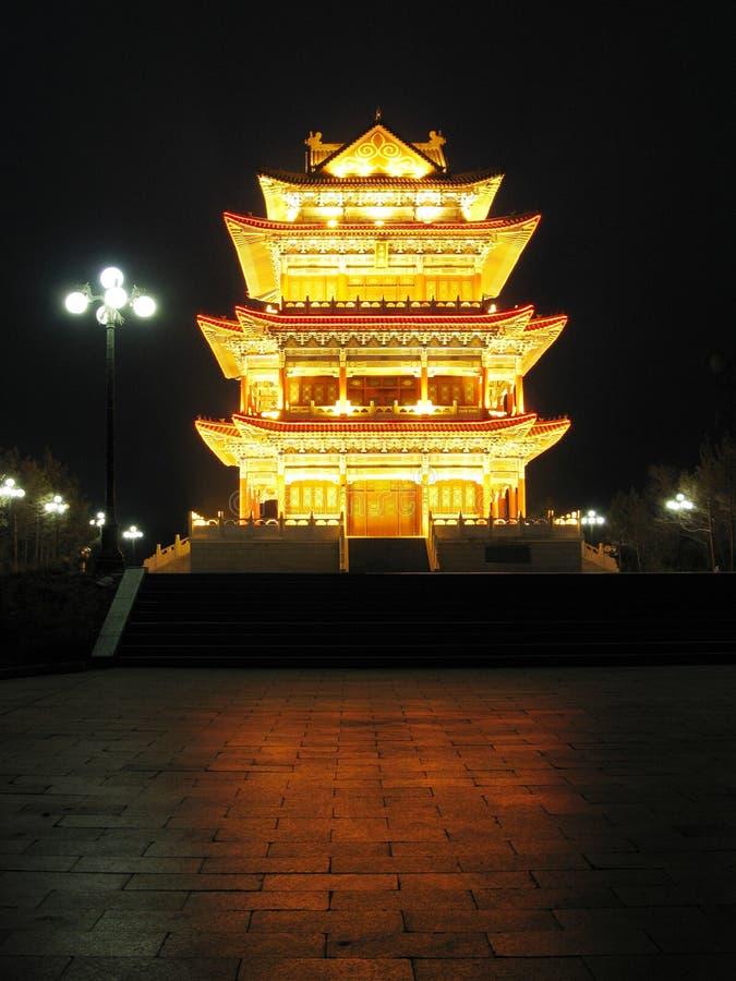 ancient architecture lights night στοκ φωτογραφίες