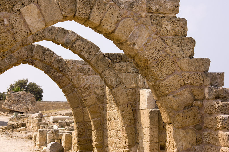 Ancient archway royalty free stock images