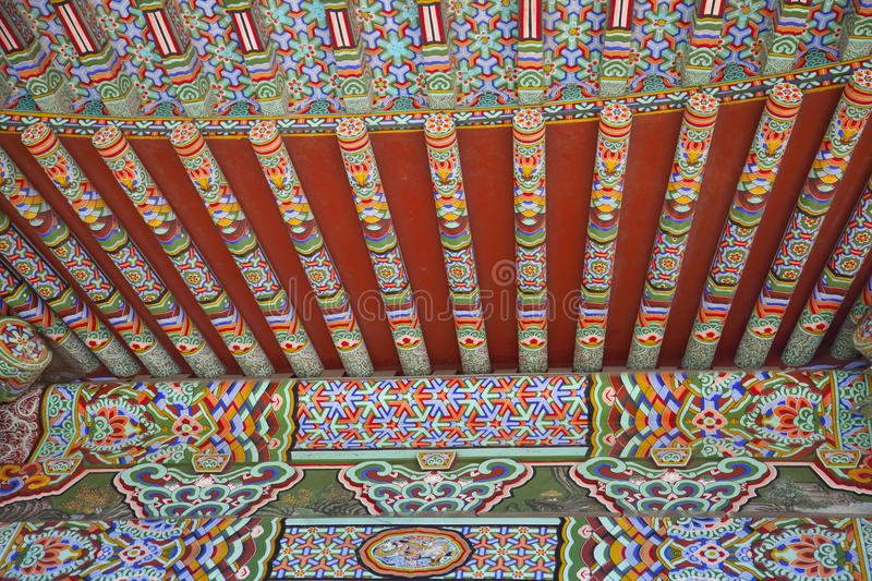 Download Ancient Asian Architecture Detail Of Roof Stock Image