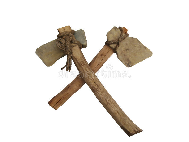 Ancient axe royalty free stock images
