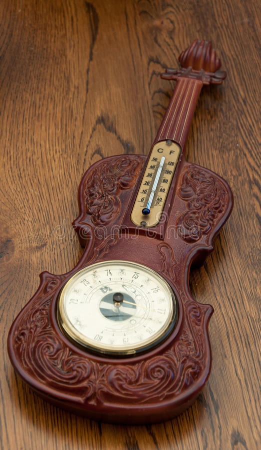 Barometer thermometer royalty free stock photos
