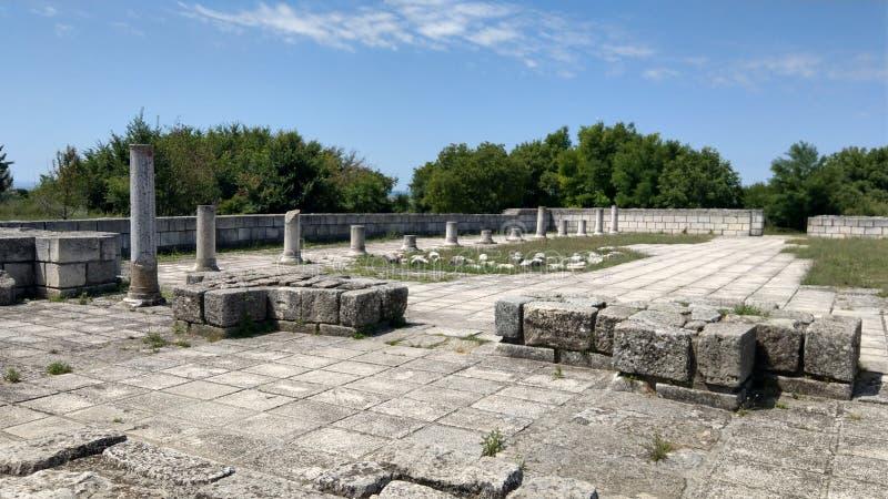 Ancient basilik stock photos