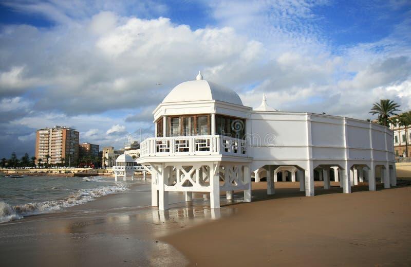 Download Ancient Baths At Caleta Beach Of Cadiz, Spain Stock Photo - Image: 23348022