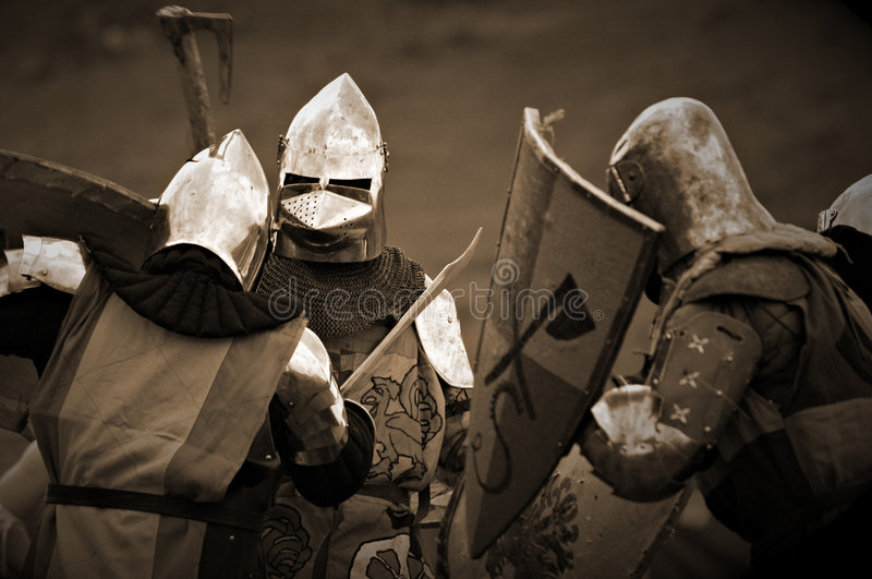 Ancient Battle royalty free stock photos