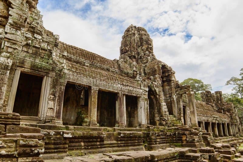 Ancient Bayon Temple Royalty Free Stock Photos