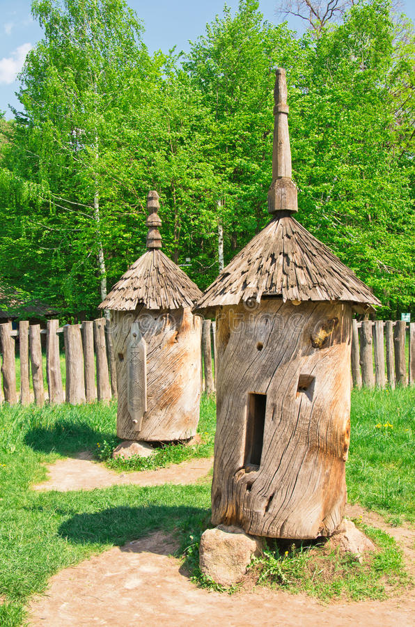 Download Ancient Beehive From The Deck Royalty Free Stock Photos - Image: 24873328