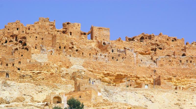 Ancient berber town stock photo