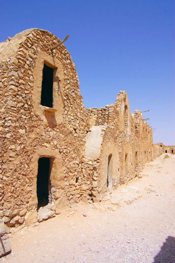 Ancient Berber town stock photography