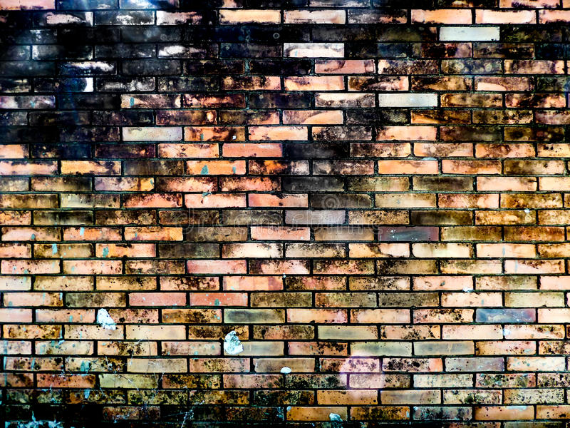 Ancient brick wall erode all surface. Ancient brick wall background burn surface has erode all surface royalty free stock photography