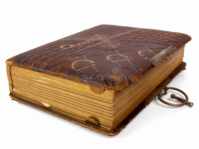 Ancient Book Stock Image