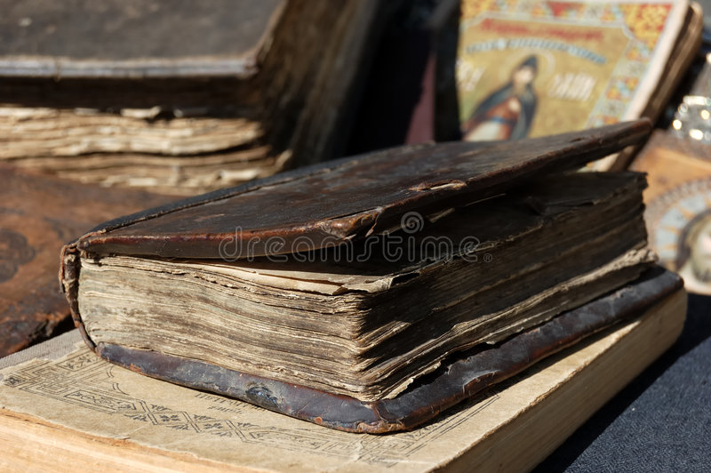 Ancient book stock images
