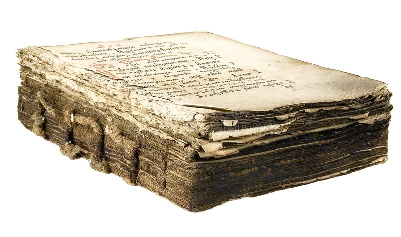 The ancient book royalty free stock photography