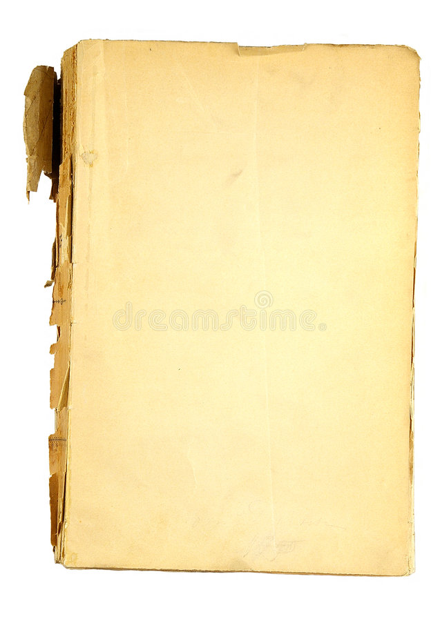 The ancient book. On a light background stock photo