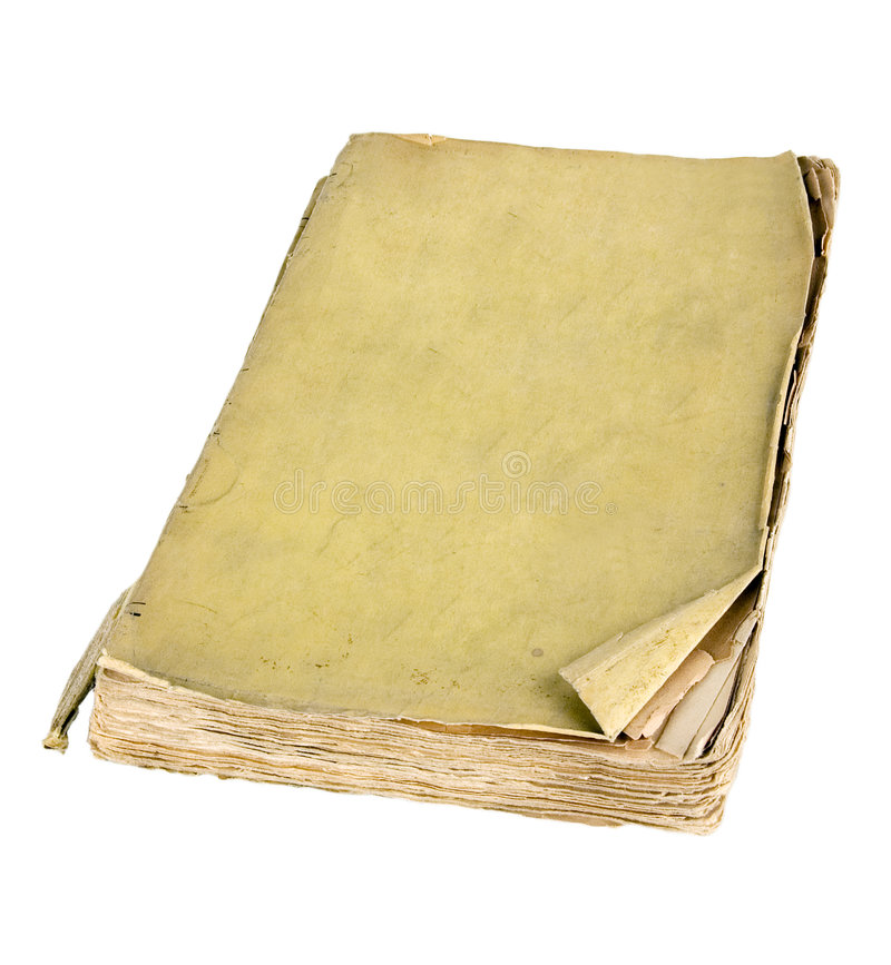 The ancient book. On a light background royalty free stock photography