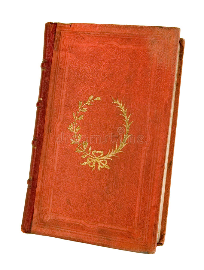 The ancient book. On a light background royalty free stock image