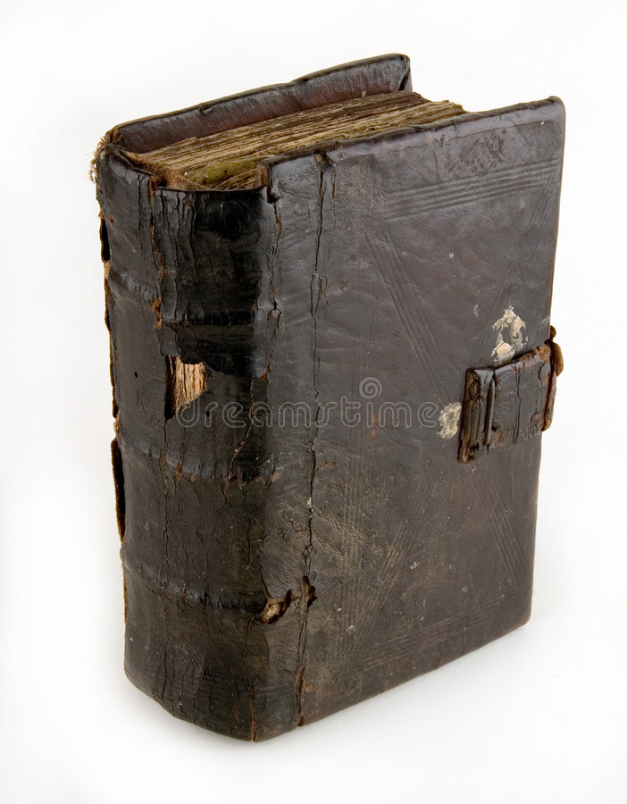 The ancient book. On a light background royalty free stock images