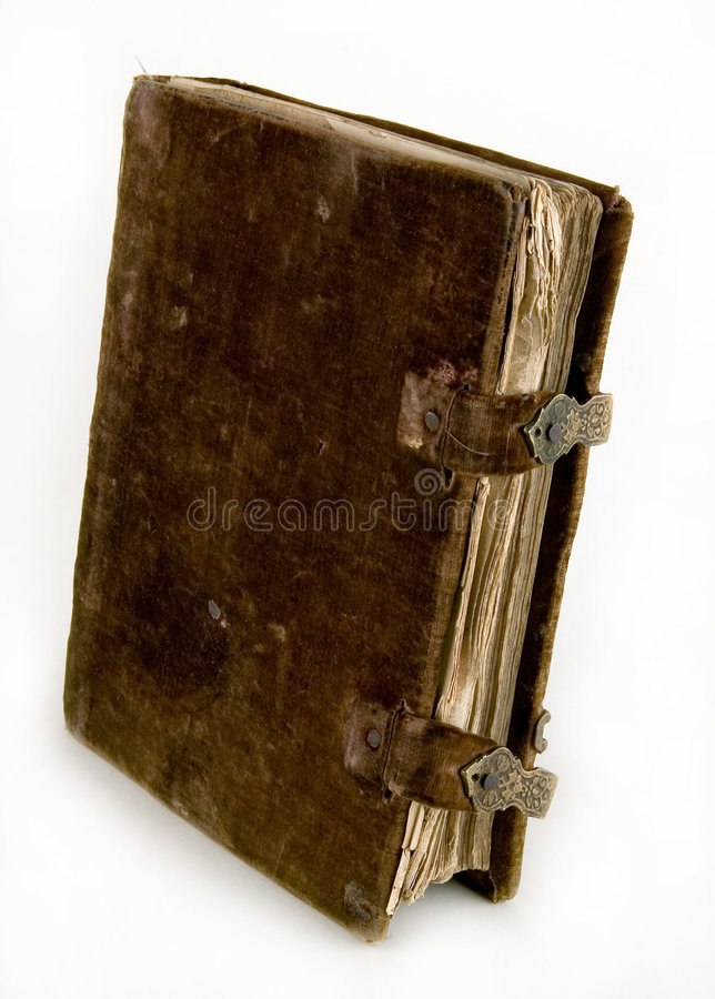The ancient book stock image