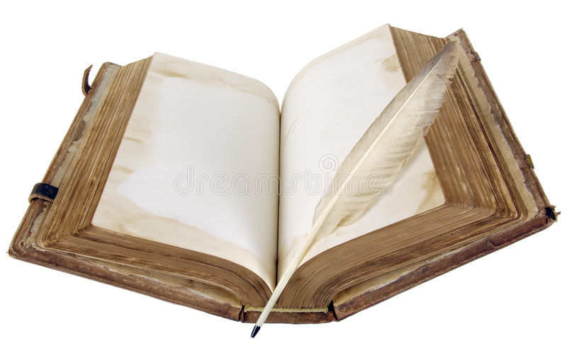 The ancient book royalty free stock image