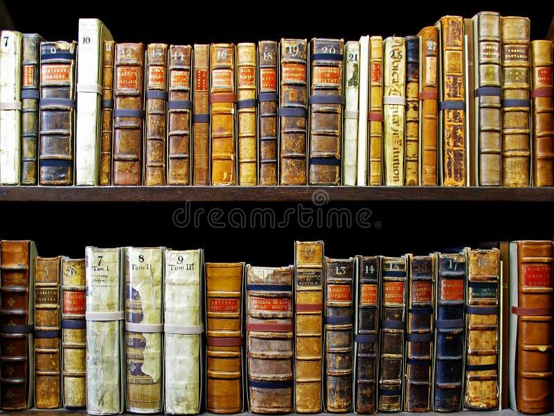 Ancient books stock photo
