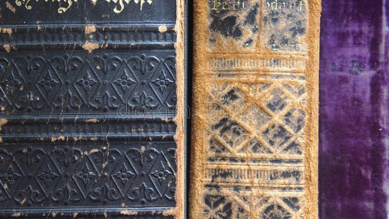 Ancient books royalty free stock photos