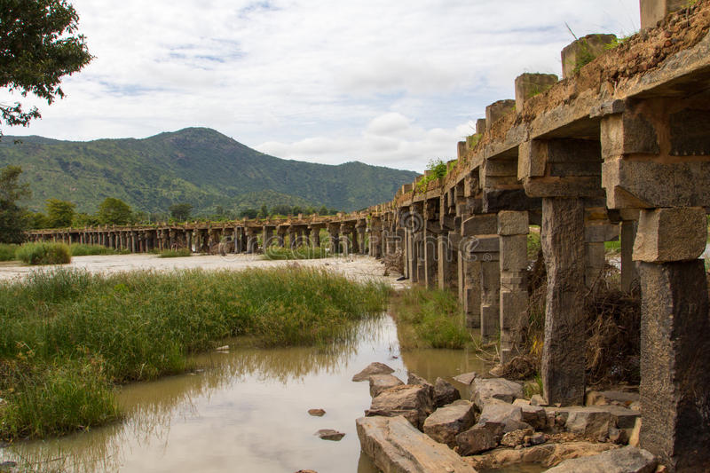 Download Ancient Bridge stock image. Image of mountains, architecture - 33798099