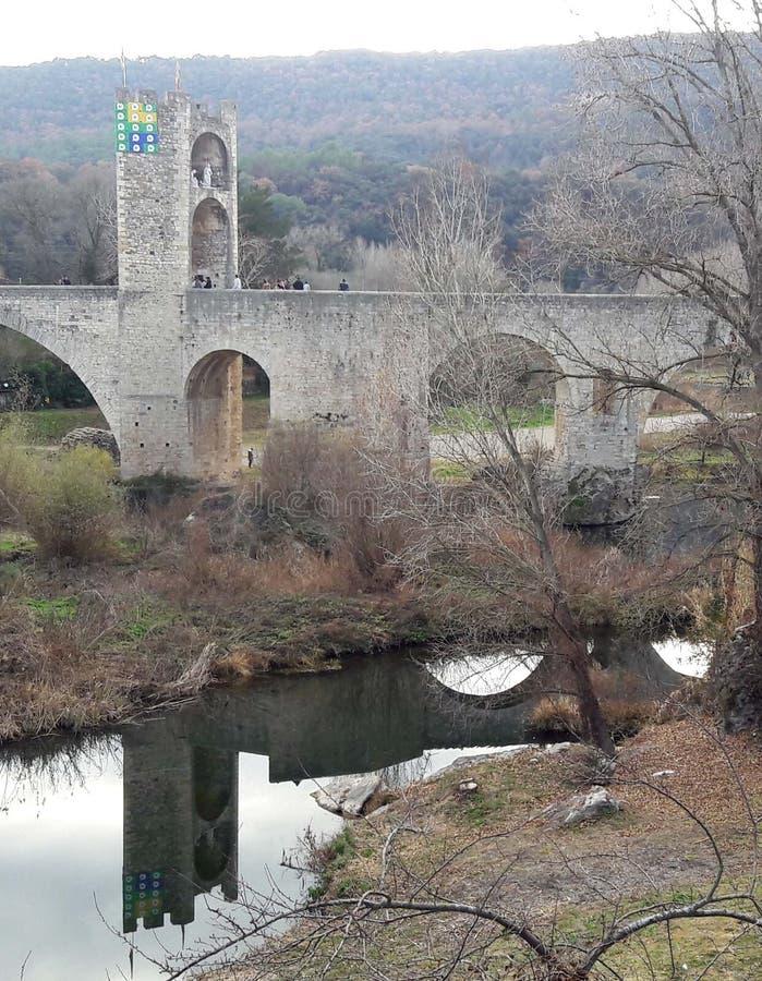 Ancient bridge royalty free stock image