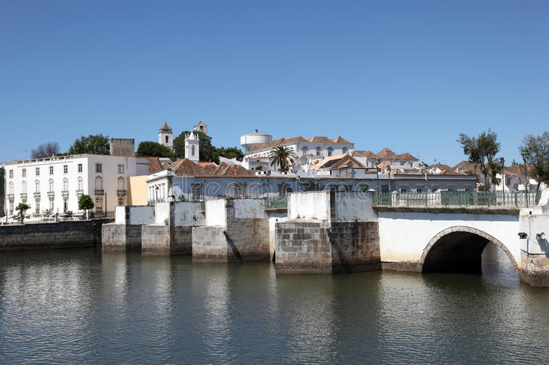 Download Ancient Bridge In Tavira, Portugal Stock Photo - Image: 25627980
