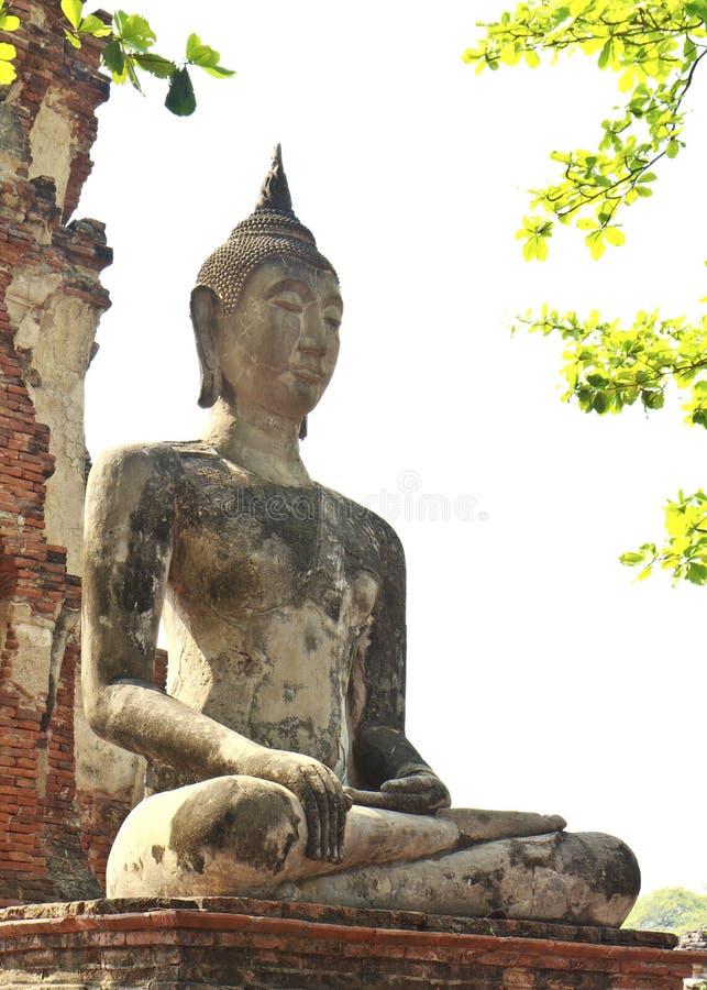 Download Ancient Buddha In Ayuthaya, Thailand Stock Image - Image: 29802367