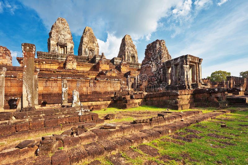 Download Ancient Buddhist Khmer Temple Stock Image - Image of beautiful, archeology: 22671615