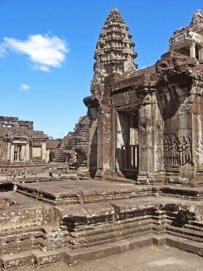 Download Ancient Buddhist Khmer Temple Stock Photo - Image: 28436464