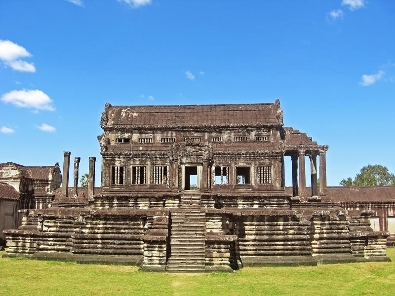 Download Ancient Buddhist Khmer Temple Stock Image - Image: 28436573