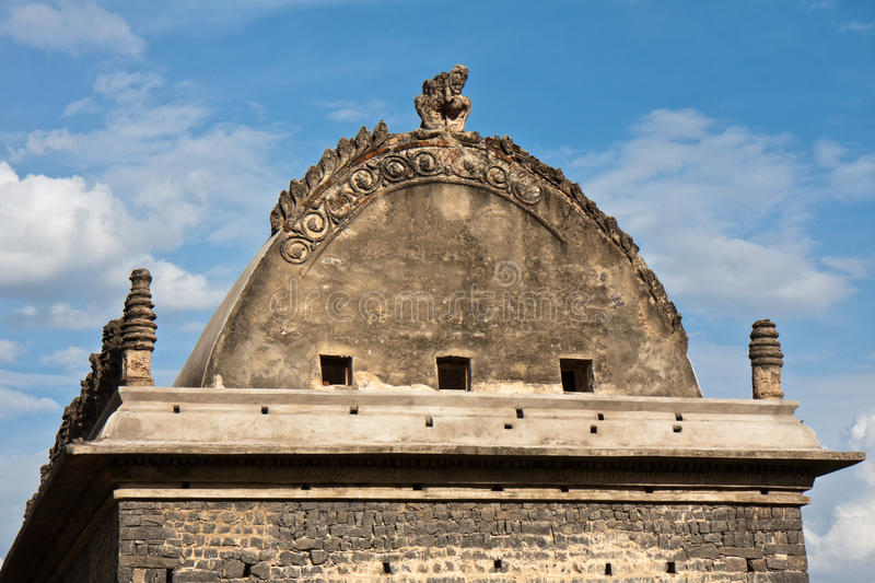 Ancient Building Roof royalty free stock images