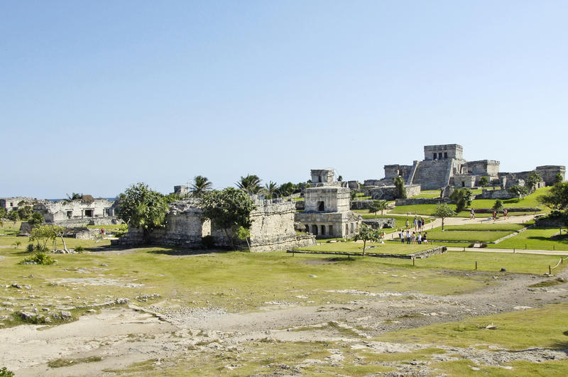Download Ancient Buildings Built By The Mayas Editorial Image - Image: 42832390