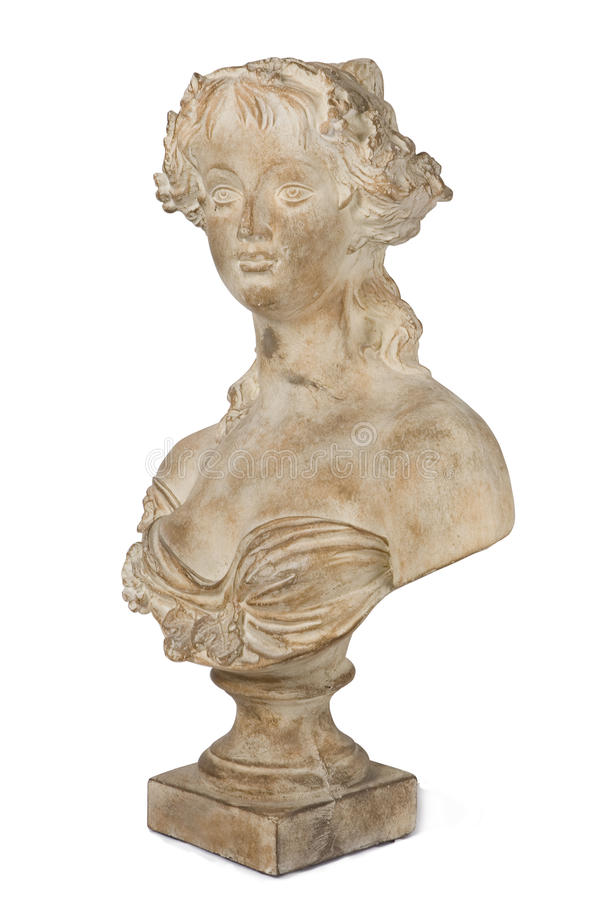 Free Ancient Bust Of A Beautiful Lady Stock Image - 42646371