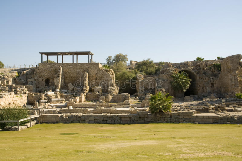 Download Ancient Caesarea stock photo. Image of history, civilization - 22501070
