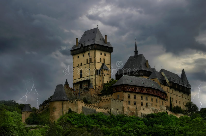 Ancient Castle. stock photography