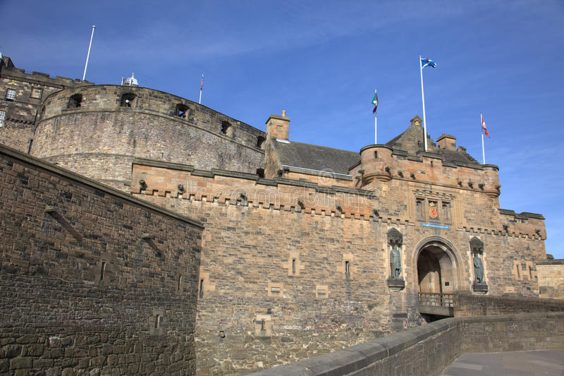 Download Ancient Castle In Edinburgh Stock Image - Image: 19198663