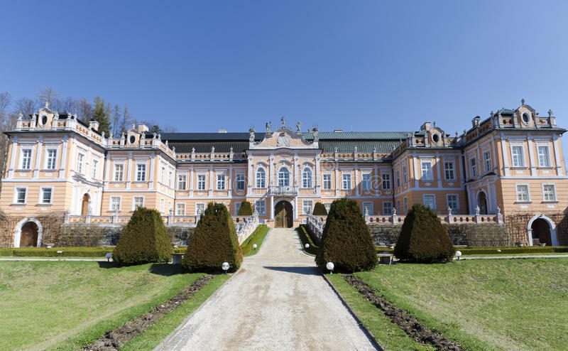 Download Ancient castle in Europe stock image. Image of facade - 24244395