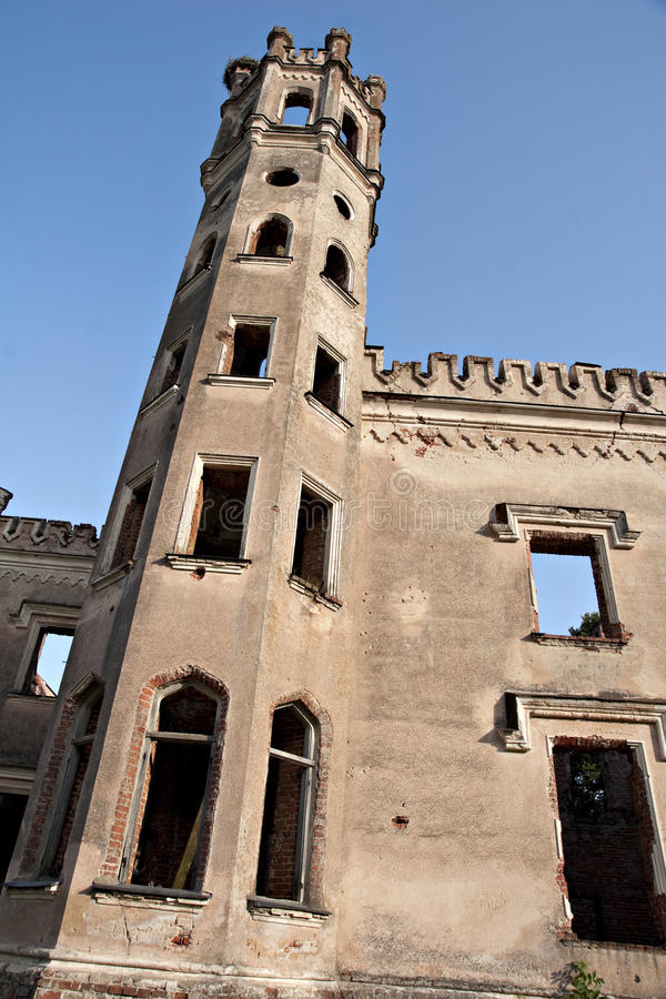Ancient castles tower. royalty free stock images