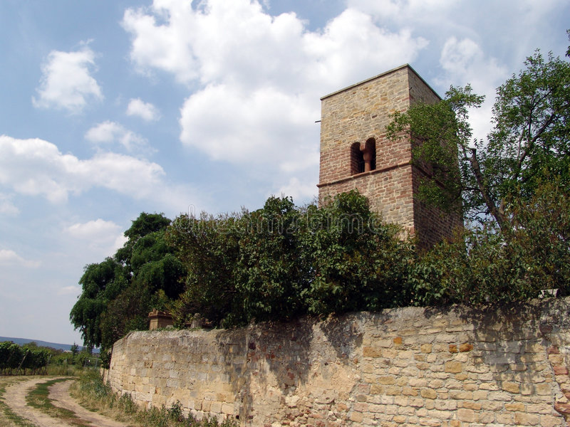 Ancient Cemetery stock photo