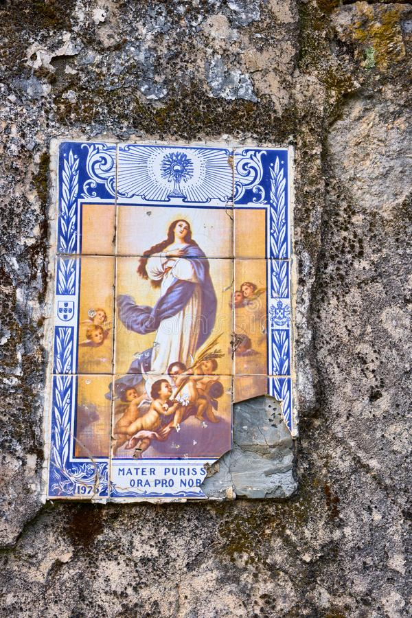 Ceramic Tiles, Portugal royalty free stock photography