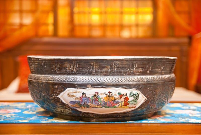 Ancient China Basin Stock Photography