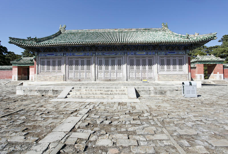 Download Ancient Chinese Architecture Stock Image - Image of cemetery, history: 21437983