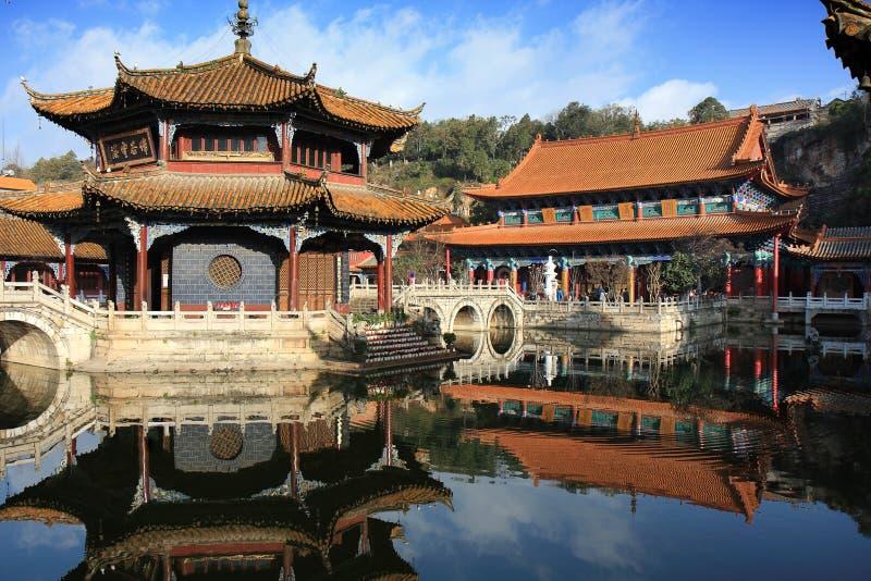 Yuantong Temple Kunming China stock photo