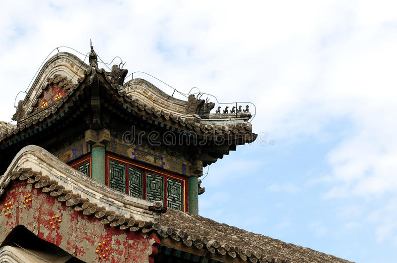 Ancient Chinese architecture royalty free stock image