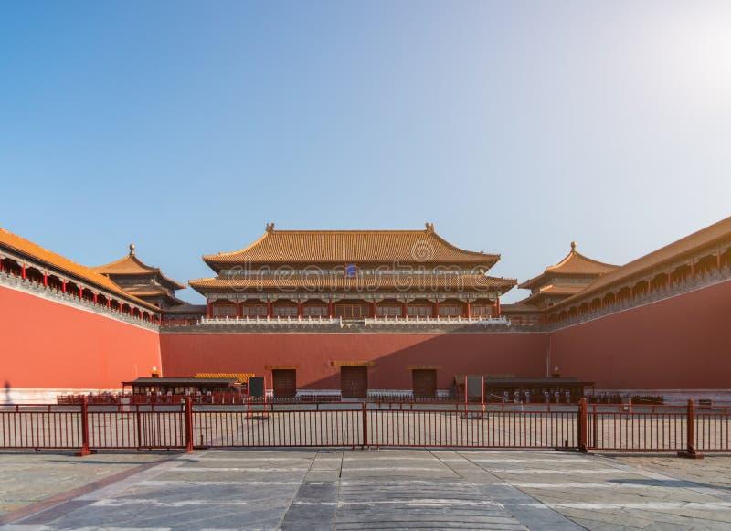 ancient chinese architecture palace beijing china stock photo
