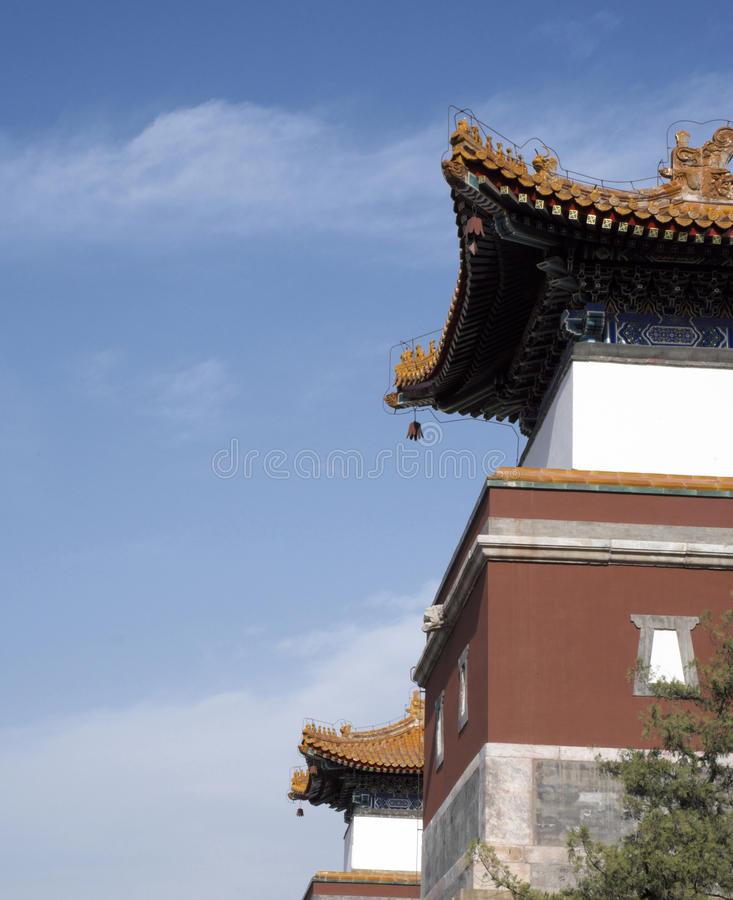 Download Ancient Chinese Architectures In Summer Palace Stock Photo - Image: 24930998