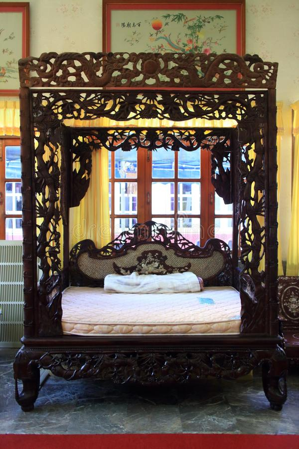 Download Ancient Chinese bed stock image. Image of image, ancient - 55109635