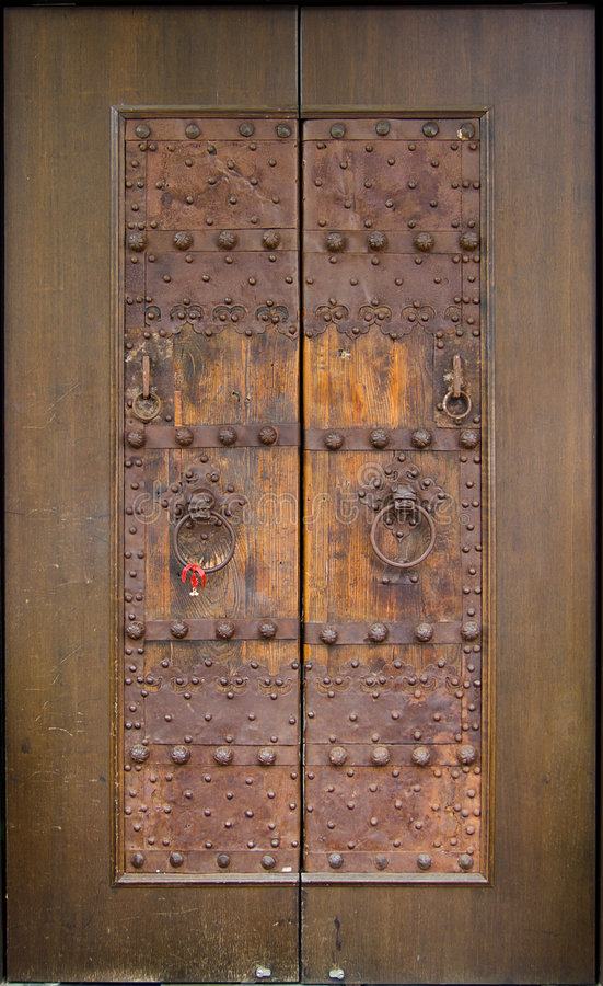 Ancient Chinese Door royalty free stock photography
